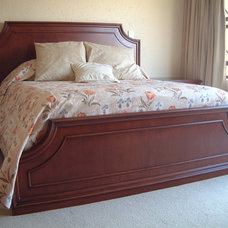 Traditional Beds by Nefertiti Designs