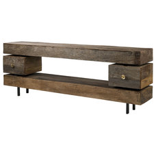 Rustic Entertainment Centers And Tv Stands by Zin Home