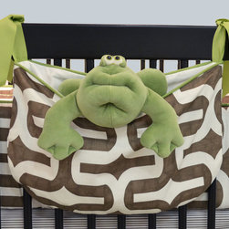 Soho Collection - The Doodlefish Soho Collection toy bag is a stylish way to keep baby's essentials and toys near. As your child grows it is the perfect place to store pajamas.