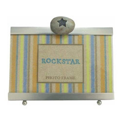 WL - 4 x 6 Inch Rock Star Inscription Smooth Silver Finish Photo Frame - This gorgeous 4 x 6 Inch Rock Star Inscription Smooth Silver Finish Photo Frame has the finest details and highest quality you will find anywhere! 4 x 6 Inch Rock Star Inscription Smooth Silver Finish Photo Frame is truly remarkable.