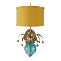 Harlequin Light - Harlequin Wallflower Sconce #2 - Uncommonly creative and colorful.