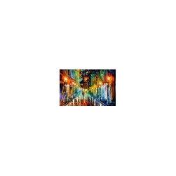 Leonid Afremov - Romantic Evening Palette Knife Oil Painting On Canvas By Leonid Afremov - Oil painting on canvas