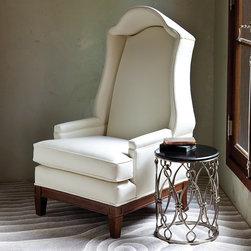 Global Views - Bonnet Chair- Muslin - Bonnet Chair-Muslin-(Naked)