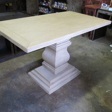 Eclectic Dining Tables by Barrio Antiguo Custom Furniture