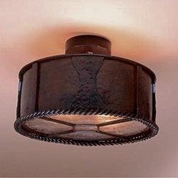 Ceiling Mounts - Hammered Ceiling Light
