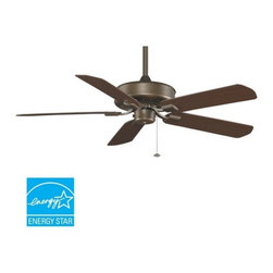 "Fanimation - Fanimation Edgewood Wet 50"" 5 Blade Energy Star Outdoor Ceiling Fan - Blades Inc - Included Components:"