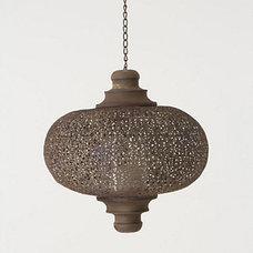 Mediterranean Outdoor Flush-mount Ceiling Lighting by Anthropologie