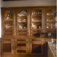 Traditional Pantry Cabinets by floridawoodmodecabinetry.com
