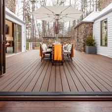 Contemporary Deck by TREX COMPANY INC