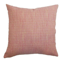 The Pillow Collection Felice Weave Pillow - The Felice Weave Pillow will bring Mid-Century modern charm to the family room or bedroom. Soft and durable, the 100% cotton fabric features a classic weave pattern. Alternating red and yellow threads create a pleasant, retro, design.About The Pillow CollectionIdentical twin brothers Adam and Kyle started The Pillow Collection with a simple objective. They wanted to create an extensive selection of beautiful and affordable throw pillows. Their father is a renowned interior designer and they developed a deep appreciation of style from him. They hand select all fabrics to find the perfect cottons, linens, damasks, and silks in a variety of colors, patterns, and designs. Standard features include hidden full-length zippers and luxurious high polyester fiber or down blended inserts. At The Pillow Collection, they know that a throw pillow makes a room.