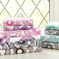 Modern Sheet And Pillowcase Sets by PBteen