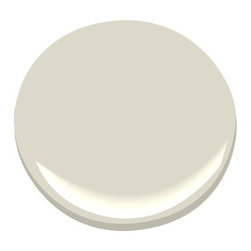 Ashwood OC-47 Paint - Ashwood by Benjamin Moore is a very versatile color, and it perfectly suits small spaces or spaces lacking light. It also works beautifully on cabinets.