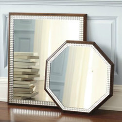 Art Deco Rectangular Mirror - As a chic yet understated interpretation of Art Deco glamour, this mirror would work great in almost any space.