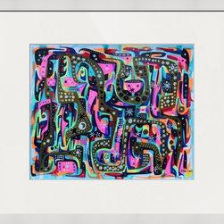 Kourosh Amini - Original Art Works By Kourosh Amini, It'S Like You Don'T Know - Artist: Kourosh Amini