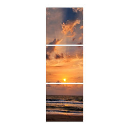 Elementem Photography - Vertical Sunset Print - Mounting Instructions: