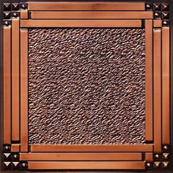 """Decorative Ceiling Tiles - Deco Corners - Faux Tin Ceiling Tile - 24""""x24"""" - #209 - Find copper, tin, aluminum and more styles of real metal ceiling tiles at affordable prices . We carry a huge selection and are always adding new style to our inventory."""