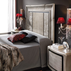 Macral Design. Beds, Headboards, Nightstands and dresser -
