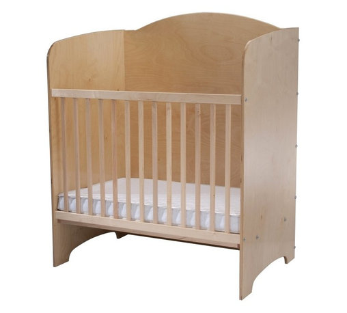 Whitney Bros Co - Whitney Brothers Privacy Crib Multicolor - WB9520 - Shop for Cribs from Hayneedle.com! Make the most of the space in your childcare facility with the Whitney Brothers Privacy Crib. Featuring solid panels of maple and birch plywood on three sides this crib not only gives the baby inside a quiet personal space to rest but also allows for cribs to be grouped together. Set them up back-to-back or end-to-end to maximize floor space. The solid wood panels will ensure babies don't disrupt each other. A 3-inch vinyl-covered mattress is included. This durable versatile crib exceeds all current CPSIA requirements. This crib arrives ready to assemble. It's made in the USA and is GreenGuard and CPSIA Certified. This crib has a Limited Lifetime warranty.About Whitney BrothersSince 1904 Whitney Brothers been using classic cabinetmaking techniques to produce safe and sturdy educational toys. Now they're also a leader in developing versatile innovative furniture and storage systems for schools day-care centers and private homes. When they design and manufacture their educational toys and furniture Whitney Brothers uses the finest hardwoods and veneers and traditional joinery methods for extra strength. Edges and corners are always rounded smoothly and finished by hand. All of their glues paints and finishes are nontoxic and easy to clean.