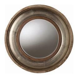 Arteriors - Arteriors 6514 Kathleen Mirror - Arteriors 6514 Kathleen Mirror made with Silver Foil Clad/Light Brown Wood/Beveled Mirror.