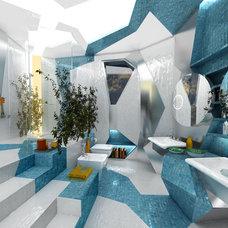Contemporary Bathroom by Brani & Desi