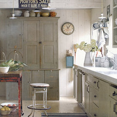 eclectic kitchen by Sandy Koepke