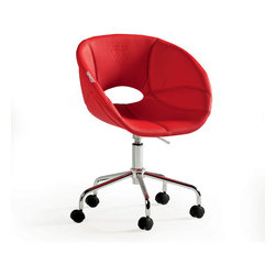 "Cilek - Turbo Chair - The turbo chair is part of the ""Need for Sleep"" edition of Turbo Beds. Beautifully crafted by Cilek this chair feels like you are sitting in real race car seat. Made of highest quality leather like materials and stainless steel available in red finish and can be a great addition for ""Turbo Bed"" themed bedroom."