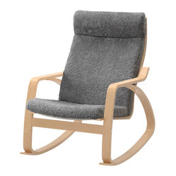 Poäng Rocking Chair, Lockarp Gray