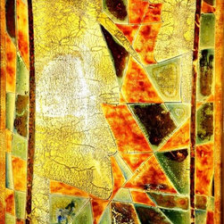 Stained glass art-by Galilee Lighting - Beautiful paintings with stained glass art, in modern abstract colors and patterns.