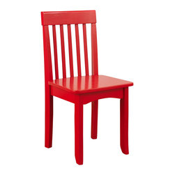 KidKraft - Avalon Chair - Red by Kidkraft - Our heirloom-quality Avalon Chair is crafted form solid wood to endure rigorous use through childhood. Available in a variety of colors, mix and match the chairs for a customized look that enhances the decor of your child�s room.