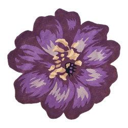 Safavieh Novelty NOV254A Lilac Area Rug - Safavieh Novelty NOV254A Lilac Area Rug