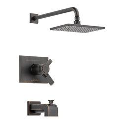 Delta Faucet Company - Delta Tempassure 17T Series Tub and Shower Trim, Venetian Bronze (T17T453-RB) - Features: