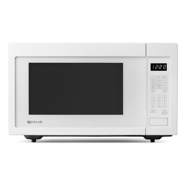 Jenn-Air Built In / Countertop Microwave White | JMC1116AW - 10 Power Levels Glass Turntable Auto Sensor Reheat Auto Defrost Electronic Touch Controls Popcorn Function Kitchen Timer
