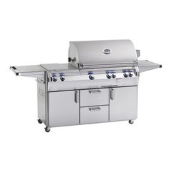 Fire Magic Echelon Diamond E790S Stand Alone Grill with Rotisserie Backburner an