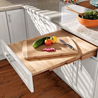 Pull-out Table - A Pull-out Table creates an ADA-accessible workspace or dining area.