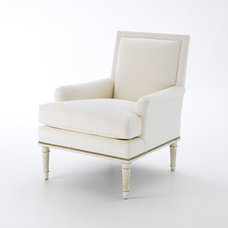 Traditional Accent Chairs by Bunny Williams