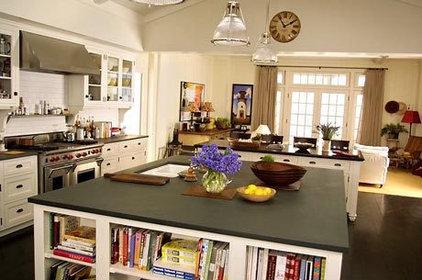 White & Black Kitchen from Something's Gotta Give