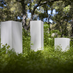 Urban Nature Planters in White - Premium modern planters for upscale indoor and outdoor spaces.