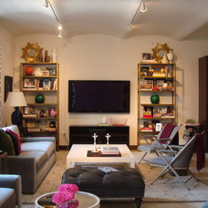 Eclectic Living Room by Mehditash Design