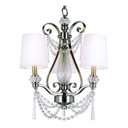 Trans Globe Lighting - Trans Globe Lighting 7873 3 Light Metropolitan Chic Chandelier Young an - Trans Globe 7873 Three Light Chandelier from the Young and Hip Collection