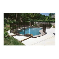 Splashnet Xpress - GLI 12 ft. Safety Fence for In Ground Pools - NE180F - Shop for Pool Accessories from Hayneedle.com! Keep your pool area protected from accidental drowning with the innovative and attractive GLI 12 ft. Safety Fence for In Ground Pools constructed of super-strong climb-resistant mesh. Our 4-foot high fence is designed to be self-installed and requires only 5/8-inch holes to be drilled in the deck. All posts and screws are made of stainless steel hardware that will not rust or corrode. The lightweight fence rolls up when not in use for easy storage. Fence comes with plastic covers for the postholes when fence is not in use. Comes in pre-assembled 12-foot lengths and can be easily shortened to fit any pool area. Safety fencing comes complete with hardware measuring template and comprehensive instructions. Available in black only.About SplashNet XpressSplashNet Xpress is dedicated to providing consumers with safe high-quality pool products delivered in a fast and friendly manner. While it's adding new product lines all the time SplashNet Xpress already handles pool maintenance items toys and games cleaning and maintenance devices solar products and aboveground pools.