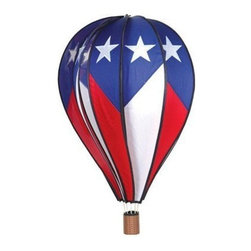 Premeir Designs - Hot Air Balloon Patriotic - Hot Air Balloon Patriotic. Hot Air Balloons are hot, hot, hot! We offer a large selection of designs. Cannot be sold into Canada.