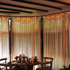 Mediterranean Dining Room by Rama