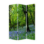 Meadows and Streams Screen - Spring is the season of life, and it's beautiful canvas can also be a part of your home with this three-panel screen. Brighten any room with this relaxing scenery.