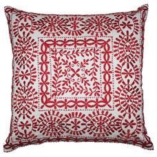 40x40cm Zaha cushion Scarlet