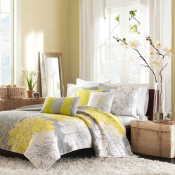 Madison Park Lola 6-piece Quilted Coverlet Set