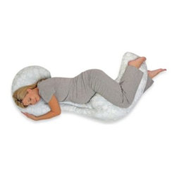Boppy - Boppy Custom Fit Total Body Pillow in Doves - This Boppy Total Body Pillow was designed to provide customized support throughout your pregnancy. It has a flexible, 3-piece design so you can use the combination that works best for you.