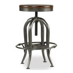 Hooker Furniture - Hooker Furniture Wendover Adjustable Height Stool 1037-31455 - Hooker Furniture Wendover Adjustable Height Stool 1037-31455
