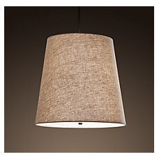 Barrel Shade Pendant | Utility Pendants | Restoration Hardware