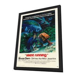 Silent Running 11 x 17 Movie Poster - Style A - in Deluxe Wood Frame - Silent Running 11 x 17 Movie Poster - Style A - in Deluxe Wood Frame.  Amazing movie poster, comes ready to hang, 11 x 17 inches poster size, and 13 x 19 inches in total size framed. Cast: Larry Whisenhunt