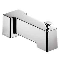 Moen - Moen 3896 Diverting Tub Spout Chrome - Moen 3896 Diverting Tub Spout - Chrome